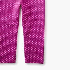 Tea Collection Pin Dot Capri Leggings - Bloom Kids Collection - Tea Collection