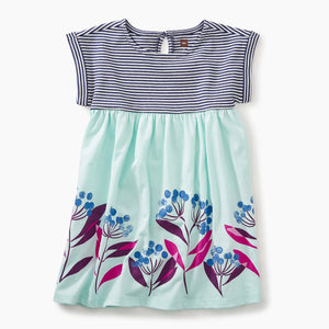 Tea Collection Blue Florals Empire Dress - Bloom Kids Collection - Tea Collection