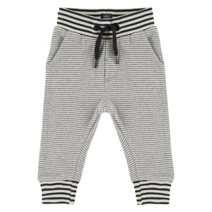 Babyface Boys Sweatpants - Charcoal Stripe