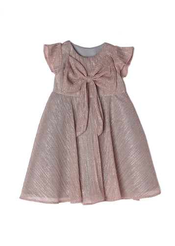 Isobella and Chloe Dazzling Darling Dress - Rose Gold - Bloom Kids Collection - Isobella and Chloe
