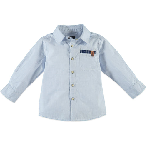 Babyface Boys Long Sleeve Shirt - Light Blue - Bloom Kids Collection - Babyface