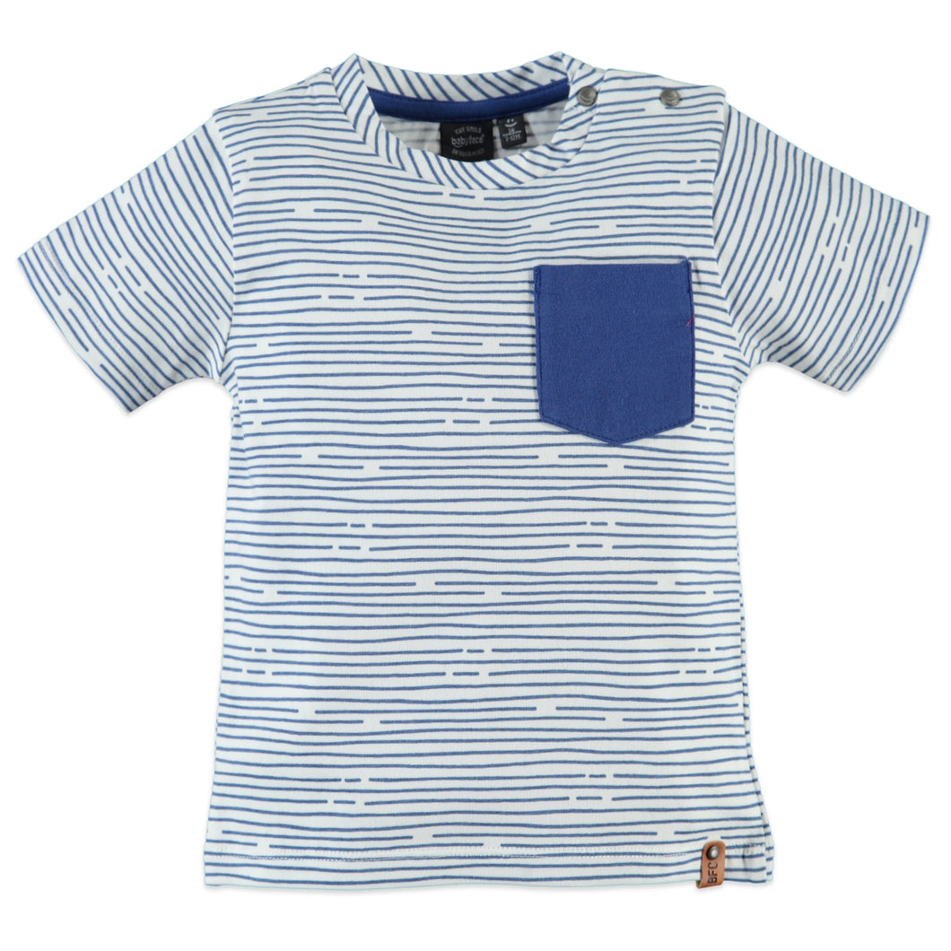 Babyface Boys Short Sleeve T-Shirt - Cobalt - Bloom Kids Collection - Babyface