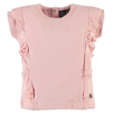 Babyface Girls Short Sleeve T-Shirt - Chalk Pink - Bloom Kids Collection - Babyface