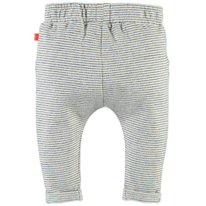 Babyface Baby Boys Sweatpants - Cool Grey Melee - Bloom Kids Collection - Babyface