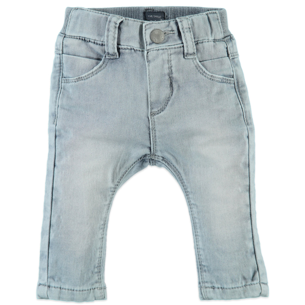 Babyface Baby Boys Jeans - Faded Denim - Bloom Kids Collection - Babyface