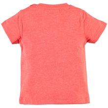 Babyface Baby Boys Short Sleeve T-Shirt - Neon Red - Bloom Kids Collection - Babyface