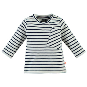 Babyface Baby Boys Long Sleeve T-Shirt - Indigo - Bloom Kids Collection - Babyface