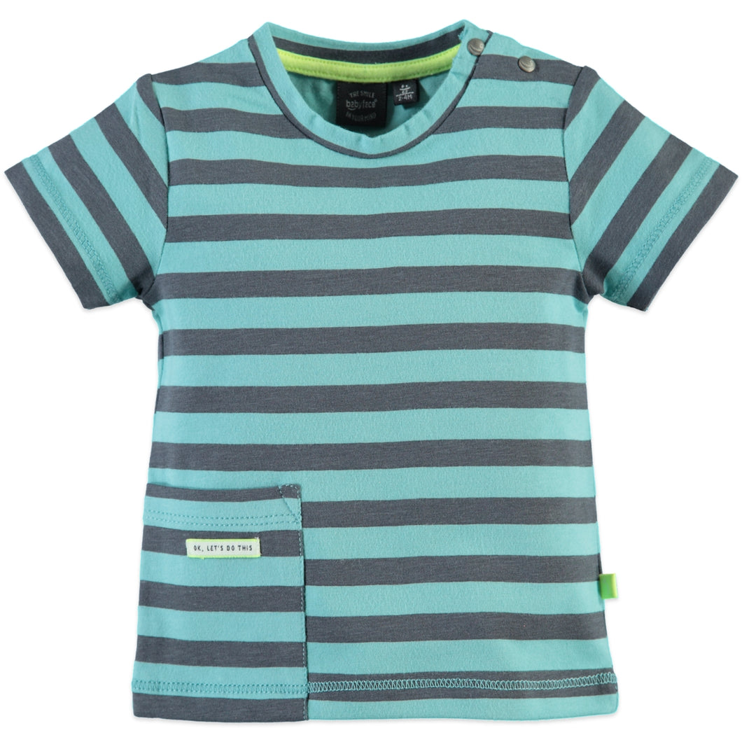 Babyface Boys T-Shirt - Aqua - Bloom Kids Collection - Babyface