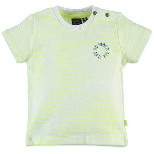 Babyface No Work All Play Tee - Neon Yellow - Bloom Kids Collection - Babyface