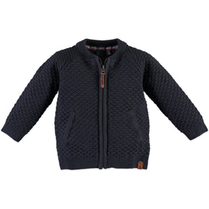 Babyface Boys Cardigan - Grey Blue - Bloom Kids Collection - Babyface