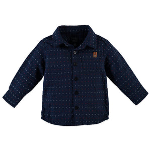 Babyface Boys Shirt - Navy - Bloom Kids Collection - Babyface