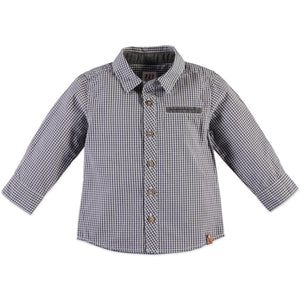 Babyface Boys Shirt - Grey Blue - Bloom Kids Collection - Babyface