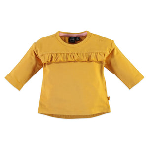 Babyface Baby Girl Long Sleeve T-Shirt - Corn - Bloom Kids Collection - Babyface