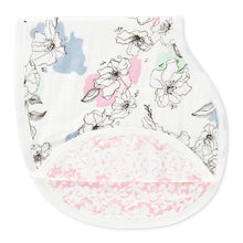 Aden + Anais Silky Soft Burpy Bib - Meadowlark - Bloom Kids Collection - Aden + Anais