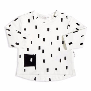 Miles Baby Brand Block Print top Long Sleeve PLAY BLOCK TOP Bloom Kids Collection Sale