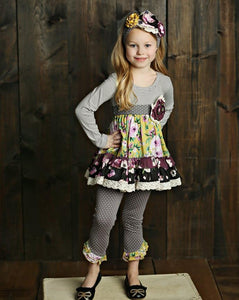 Mustard Pie Vintage Violet Mia Tunic - Bloom Kids Collection - Mustard Pie