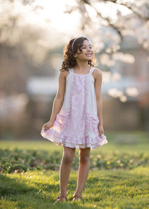 Isobella and Chloe Lavender Bouquet Dress - Bloom Kids Collection - Isobella & Chloe
