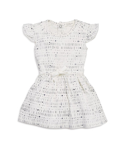Miles Baby 'Miles To Go' White Dress
