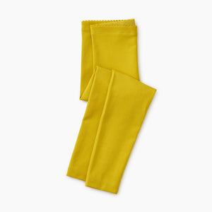 Tea Collection Solid Leggings - Goldenrod