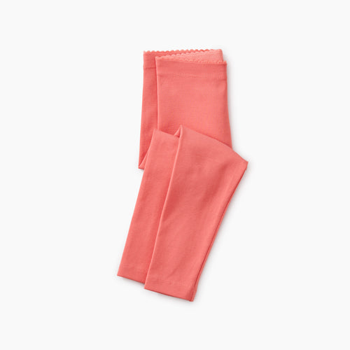 Tea Collection Solid Leggings - Pink Tulip