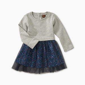 Tea Collection Tulle Skirted Baby Dress - Sunrise Floral - Bloom Kids Collection - Tea Collection