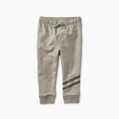 Tea Collection Speedy Striped Joggers - Stratus - Bloom Kids Collection - Tea Collection