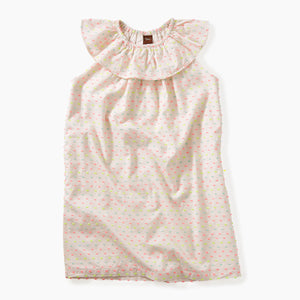Tea Collection Confetti Ruffle Neck Dress