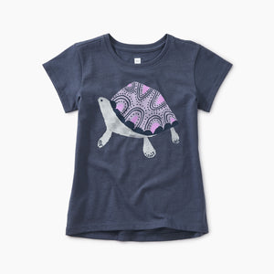 Tea Collection Turtle Graphic Tee - Bloom Kids Collection - Tea Collection