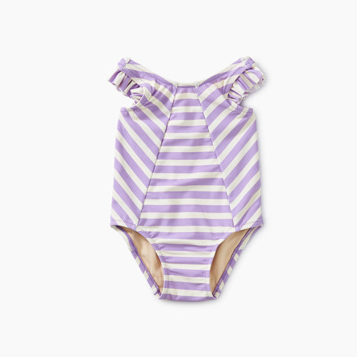 Tea Collection Striped One-Piece - Aster - Bloom Kids Collection - Tea Collection