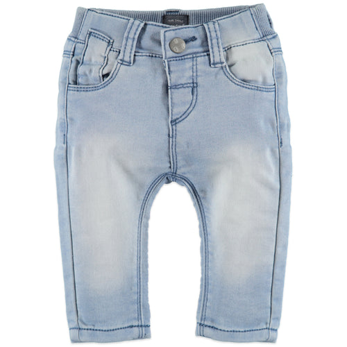Babyface Baby Boys Jogg Jeans - Blue Denim - Bloom Kids Collection - Babyface