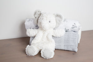 Mary Meyer Afrique Elephant Lovey - Bloom Kids Collection - Mary Meyer