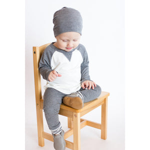 Moon + Beck Signature Pant - Gray - Bloom Kids Collection - Moon + Beck