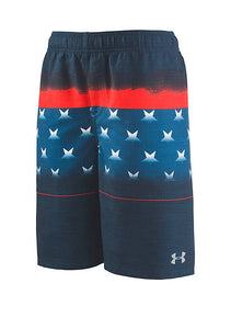 Under Armour Americana Striped Volley - Academy - Bloom Kids Collection - Under Armour