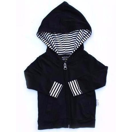 Moon + Beck Hoodie - Black - Bloom Kids Collection - Moon + Beck