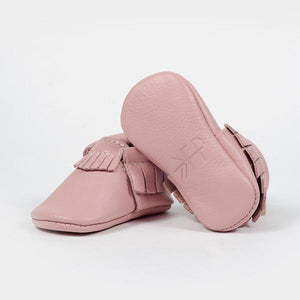 Freshly Picked Blush Moccasins - Bloom Kids Collection - Freshly Picked