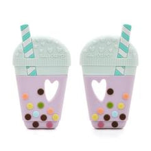Loulou Lollipop Teether - Bubble Tea - Bloom Kids Collection - Loulou Lollipop