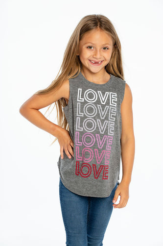 Chaser LOVE Tank - Bloom Kids Collection - Chaser