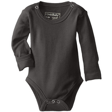 L'ovedbaby Organic Gloved-Sleeve Bodysuit - Gray - Bloom Kids Collection - L'ovedbaby
