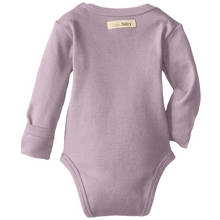 L'ovedbaby Organic Gloved-Sleeve Bodysuit - Lavender - Bloom Kids Collection - L'ovedbaby