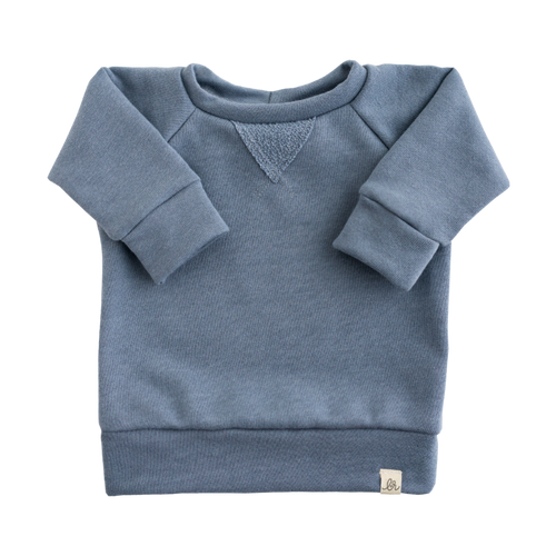 Lulu + Roo Crew Neck Sweatshirt - Carolina Blue