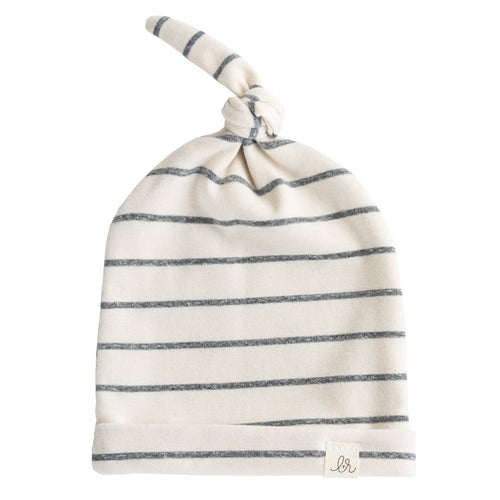 Lulu + Roo Knotted Hat - Woven Stripe - Bloom Kids Collection - Lulu + Roo