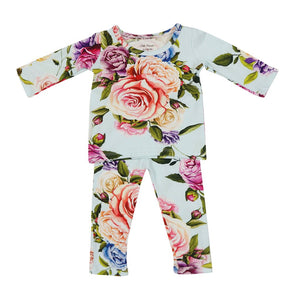 Posh Peanut 2 Piece Set - Country Rose - Bloom Kids Collection - Posh Peanut