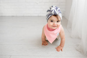Copper Pearl Baby Bandana Bibs - Sweetheart - Bloom Kids Collection - Copper Pearl