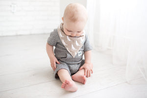 Copper Pearl Baby Bandana Bibs - Phoenix - Bloom Kids Collection - Copper Pearl