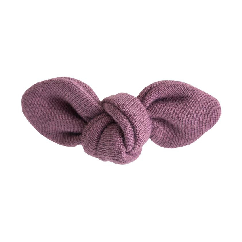 Lulu + Roo Knotted Bow - Fig - Bloom Kids Collection - Lulu + Roo