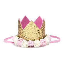 Sweet Wink Gold Blush Flower Crown - Bloom Kids Collection - Sweet Wink
