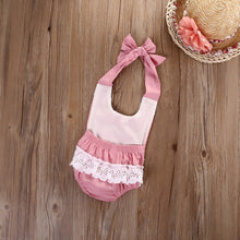 Lace Jumpsuit - Pink - Bloom Kids Collection - Bloom Kids Collection