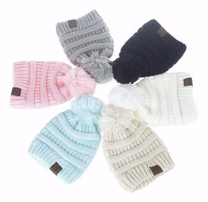Pom Beanie Hat - Bloom Kids Collection - Bloom Kids Collection