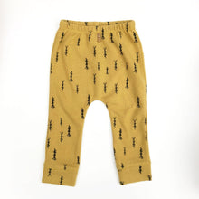 Play Up Printed Interlock Legging - Mustard Wheat - Bloom Kids Collection - Play Up