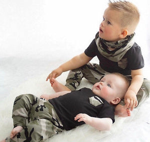 2 Piece Camo Set - Bloom Kids Collection - Bloom Kids Collection